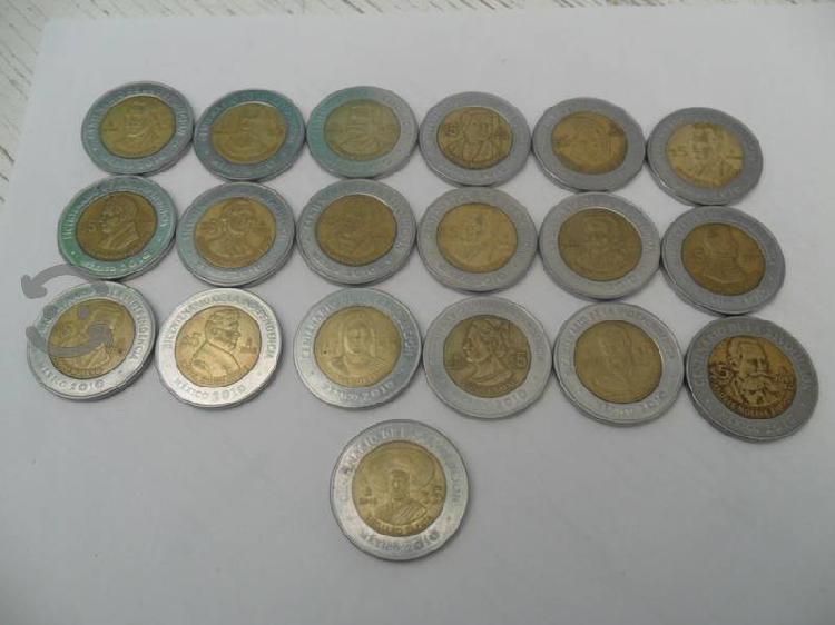 Monedas del centenario y bicentenario