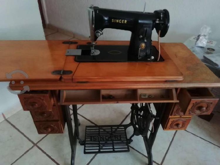 Máquina coser singer con accesorio,banda repuesto