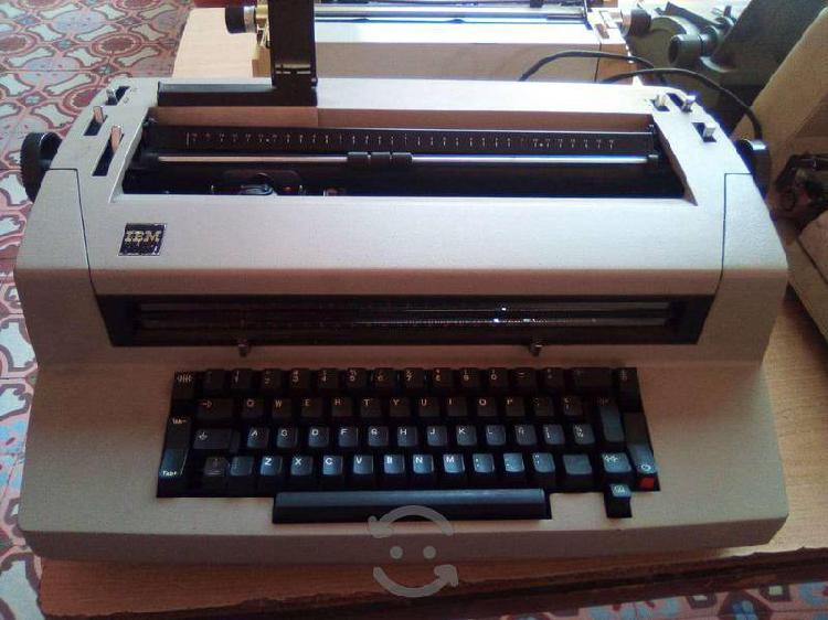 Máquina escribir ibm 82 vintage, esfera, eléctrica