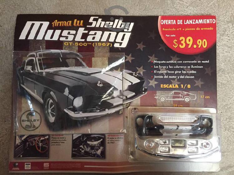 Mustang shelby gt500 modelo 1967 escala 1/8