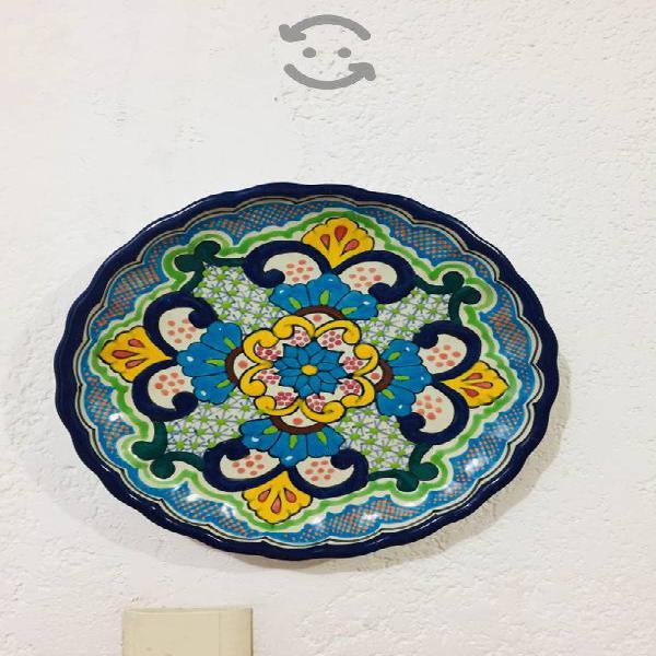 Platos de pared (5 platos de decoración)