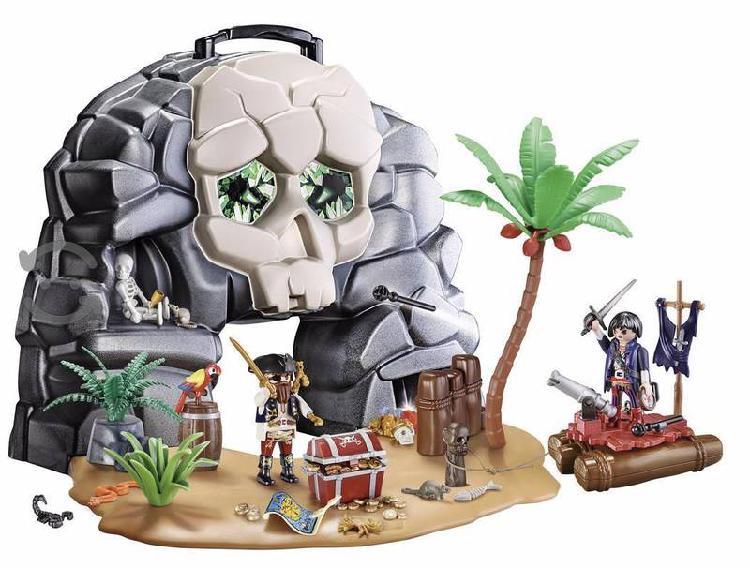 Playmobil pirates, isla pirata portatii, pirata