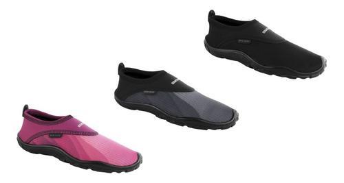 Set de 3 zapatos acuáticos playa hombres/mujeres/niños