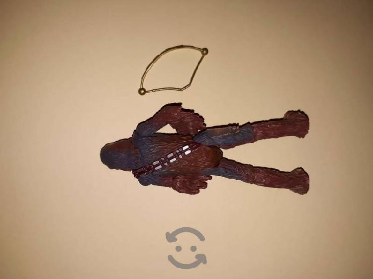Star wars figura de acción chewbacca