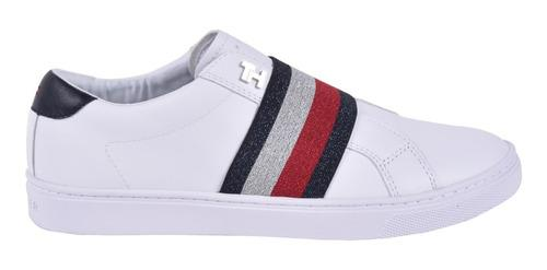 Tenis tommy hilfiger fw0fw04597-ybs23 mujer