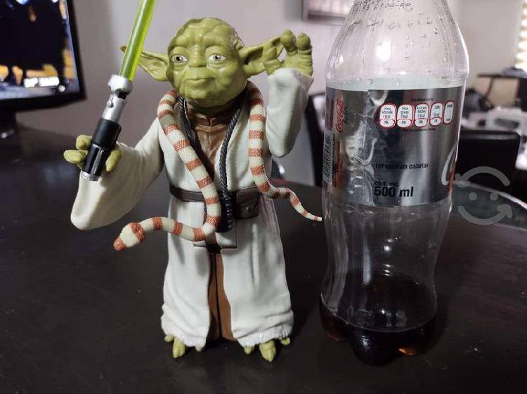 Yoda - figura articulada star wars 20 cm de altura