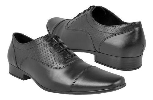 Zapatos de vestir para caballero stylo 01 negro