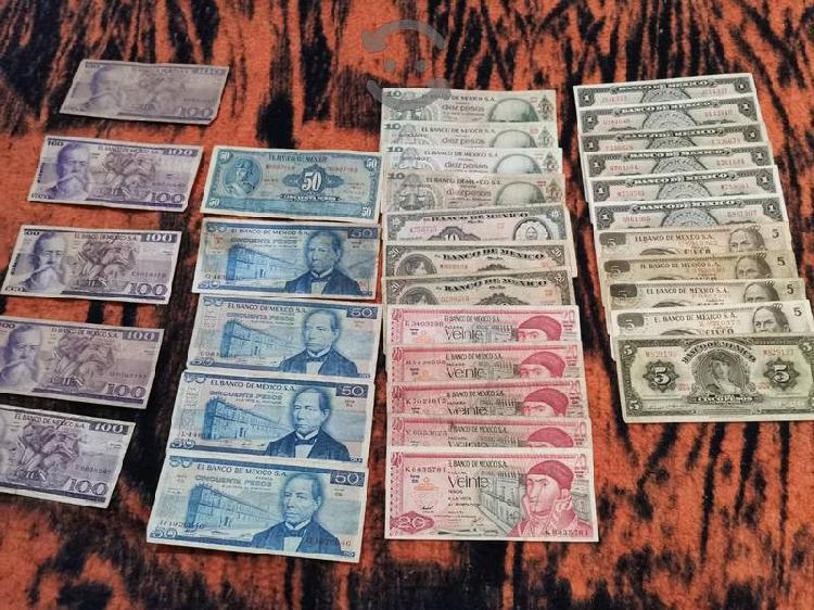 Colección de billetes ofrece si te interesa uno