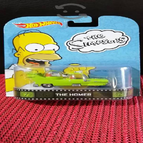 Hot wheels retro the homer simpsons