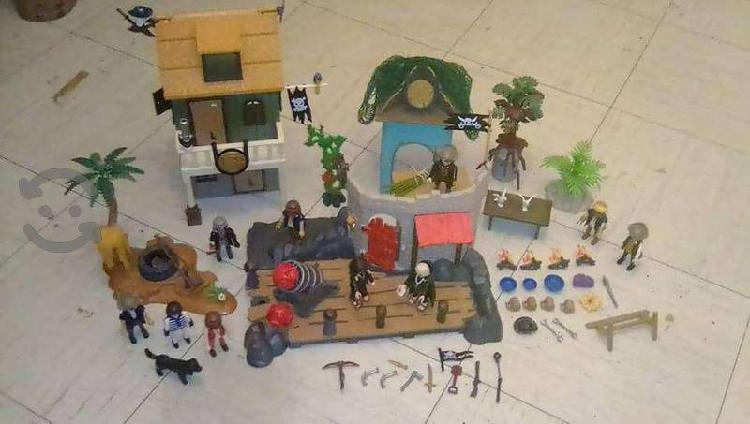 Super lote pirata playmobil