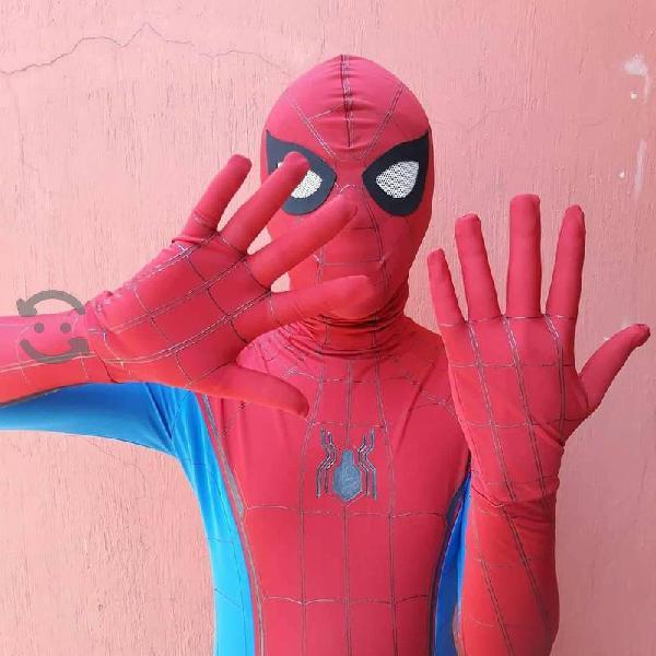 Traje hombre araña