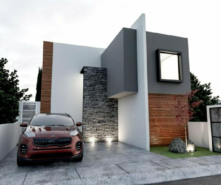 Hermosa casa diseno unico con recamara en planta baja