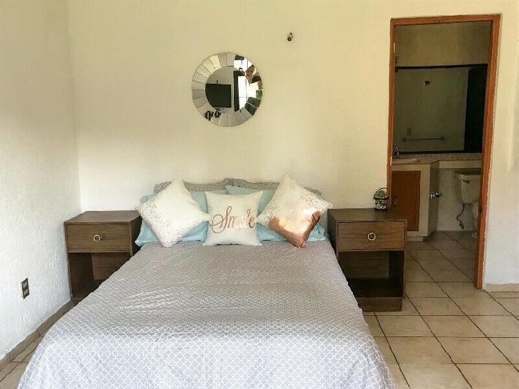 Renta habitación c/ baño en zona residencial