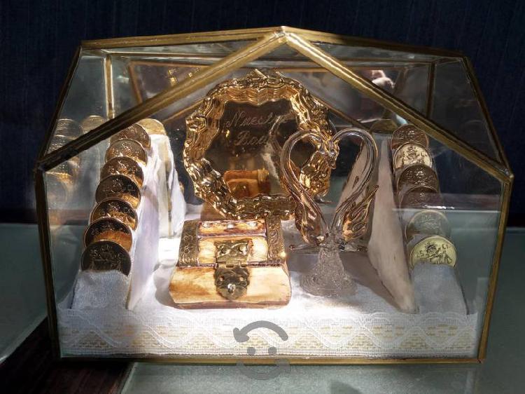 Arras para boda monedas plata 25 centavos ley