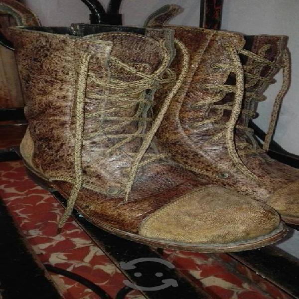 Botas cuadra artesanales #6 mx