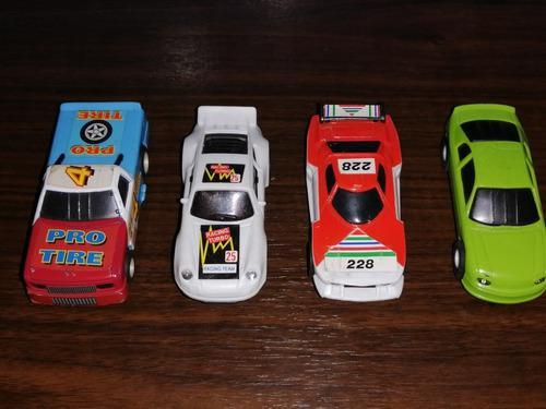 Carros 1/43 para pistas. (lote de 4) no scalextric.