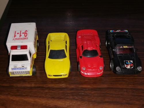 Carros para pista 1/43 (lote de 4) no scalextric.