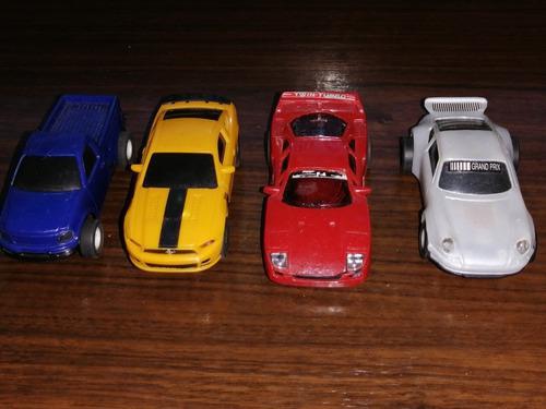 Carros para pistas 1/43 (lote de 4) no scalextric.