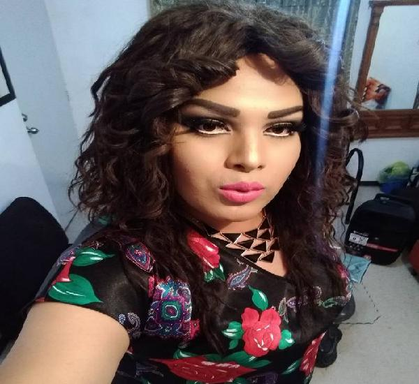 Hola soy chica trans limpia discreta complaciente amable
