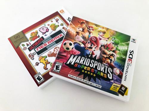 Juegos 3ds ultimate nes remix / mario sports super stars