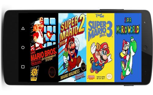 Juegos de super nintendo snes pc y android celular tablet