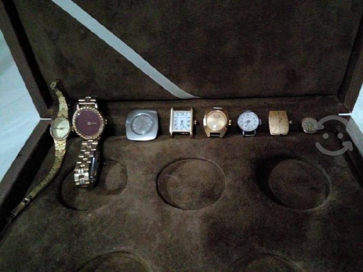 Lote de 20 relojes suizos y un germany originales