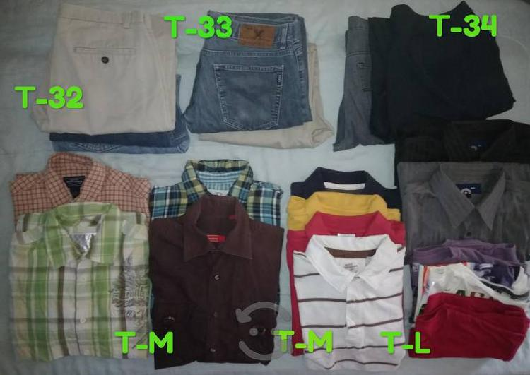 Lote de ropa de caballero m/l. 20 pzas.