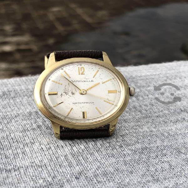 Reloj caravelle by bulova año 1965 placa de oro
