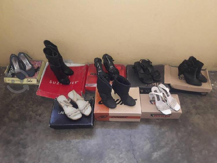 Lote zapatos n. 2 usados