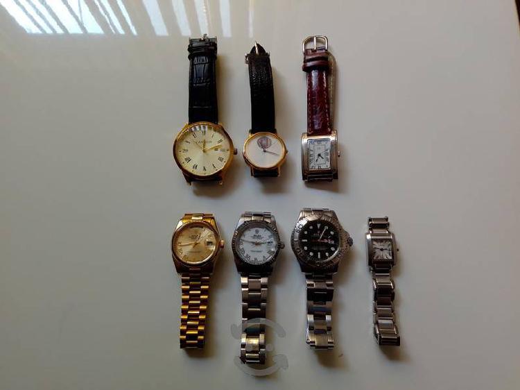 Relojes y lentes