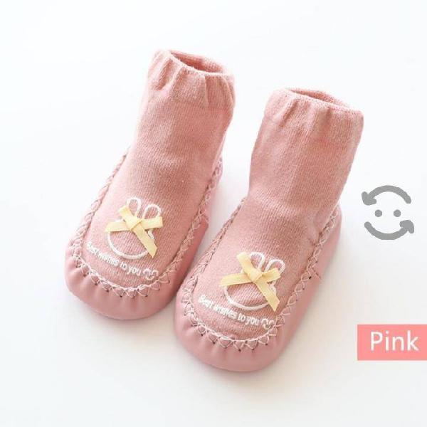 Zapatos bebé niña calcetas