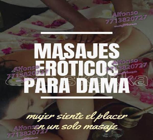Masajes sensuales eróticos para mujeres y parejas