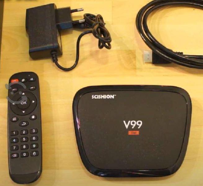 Android tv box de 32 gb y 4 gb ram poco uso al 100