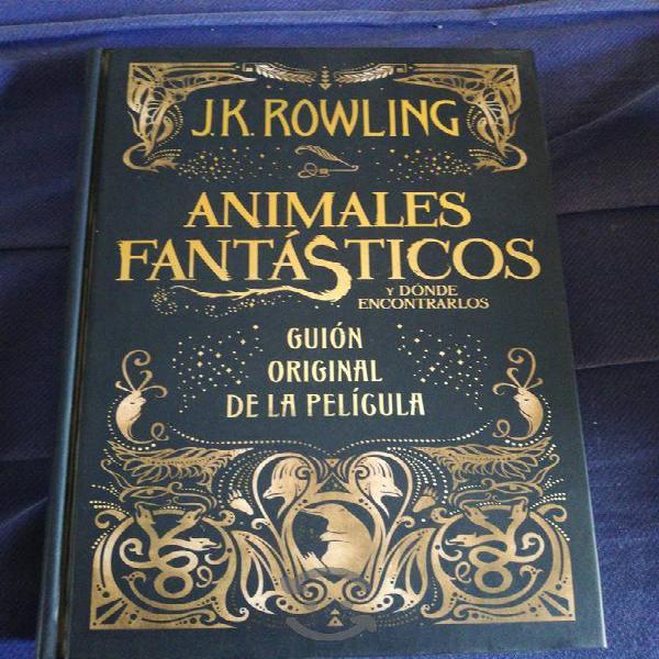 Animales fantásticos libro