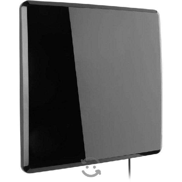 Antena 4k ultra hd interior amplifica señal digita
