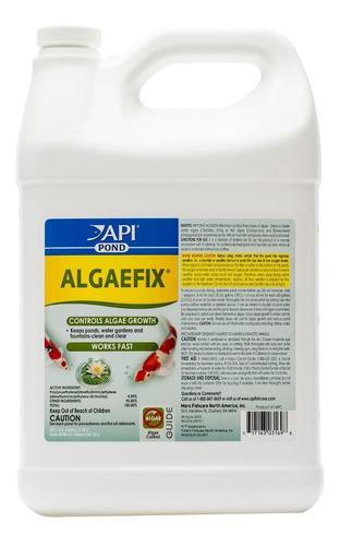 Api algaefix pond 3.8 lt para control de algas en estanques