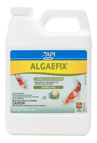 Api algaefix pond 32 oz para control de algas en estanques
