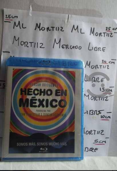 Bluray película mexicana hecho méxico documental