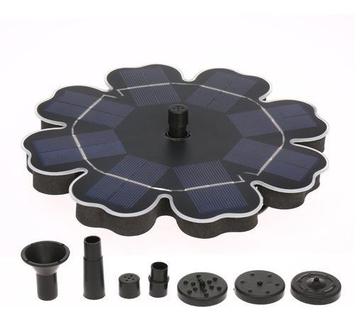 Bomba para fuente solar flotante, ideal p/baño de aves 2.5w