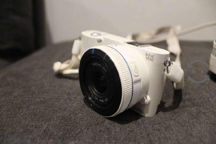 Camara samsung nx1000 2 lentes