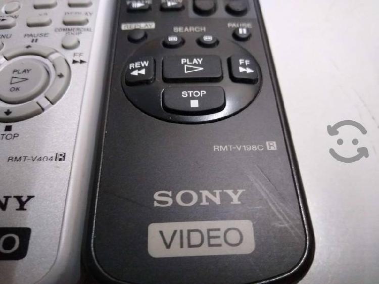 Control remoto sony audio/video/vhs originales