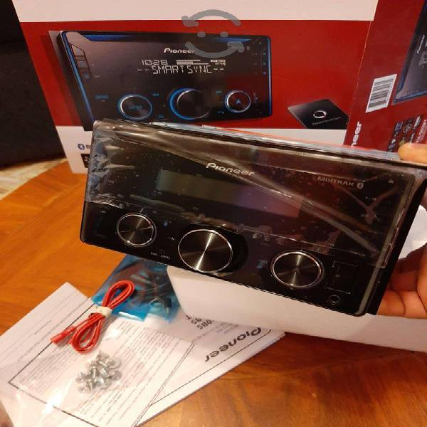 Estereo pioneer doble din impecable