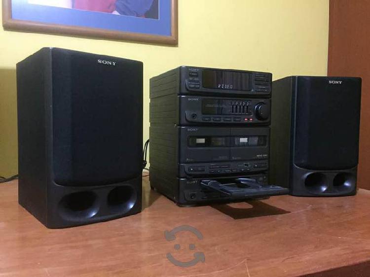 Estéreo sony mhc-510 mini hi-fi minicomponente