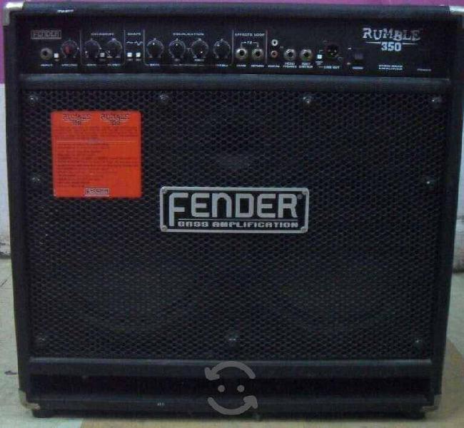Fender rumble bajo 350 watts