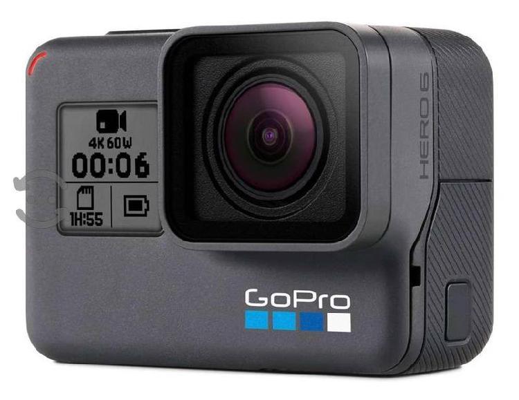 Gopro 6 hero black con accesorios
