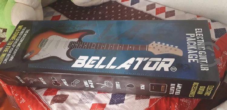 Guitarra eléctrica bellator nueva.