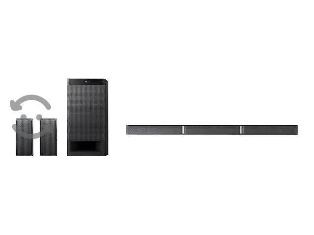 Home theater sony (híbrido barra de sonido)