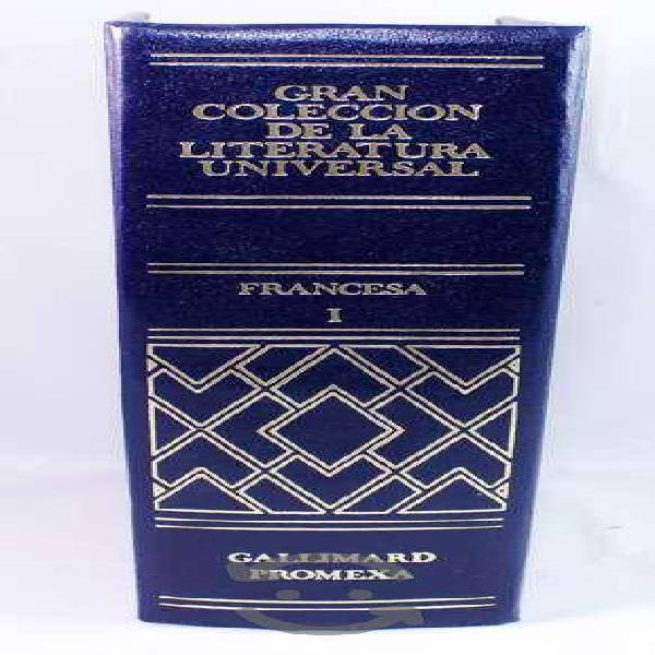 Libro colección de la literatura universal france