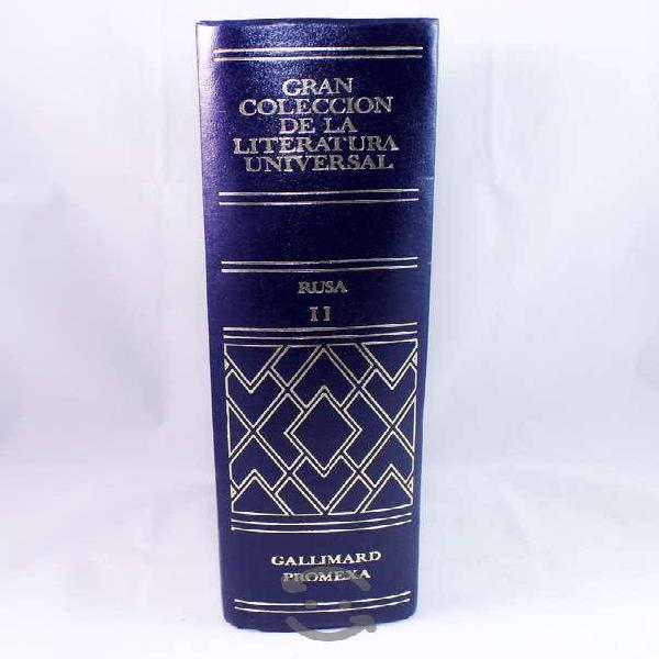 Libro colección de la literatura universal rusa 2