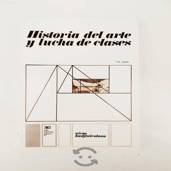 Libro historia del arte y lucha de clases nicos ha